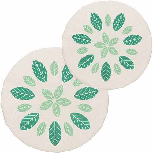 《NOW》不透氣防塵罩大小2件(綠葉)
