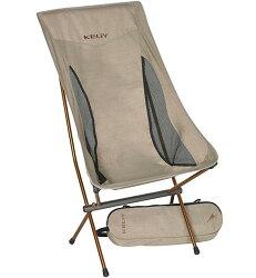 KELTY 輕量摺疊高背椅/露營椅/折疊椅 Linger High Back Chair 61510616TUN淺咖