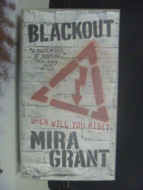 ~書寶 書T2/原文小說_NRT~Blackout_Mira Grant ~  好康折扣