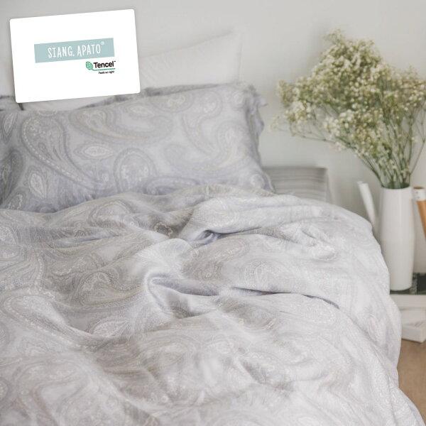 【預購】天絲舖棉被套床包組-雙人【Plankton】涼感翔仔居家100%tencel