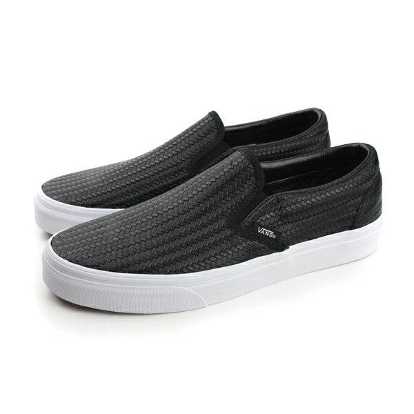 VANS Classic Slip-On 休閒鞋 黑白 男女款 no437
