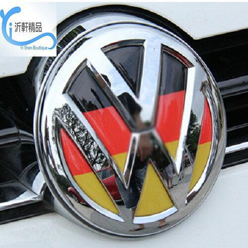 VW LOGO 前車標〈 德國立體水晶浮標〉車頭標誌 polo golf tiguan Beetle 沂軒精品A0262
