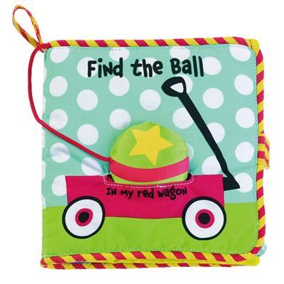 ★衛立兒生活館★美國Manhattan Toy軟布書-尋找球球#8150