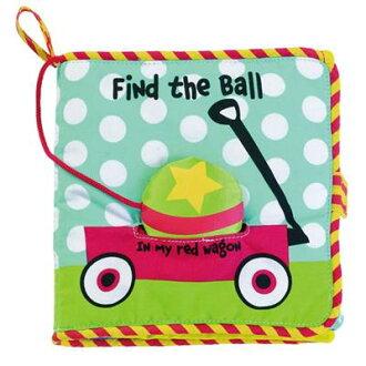★衛立兒生活館★美國Manhattan Toy軟布書-尋找球球