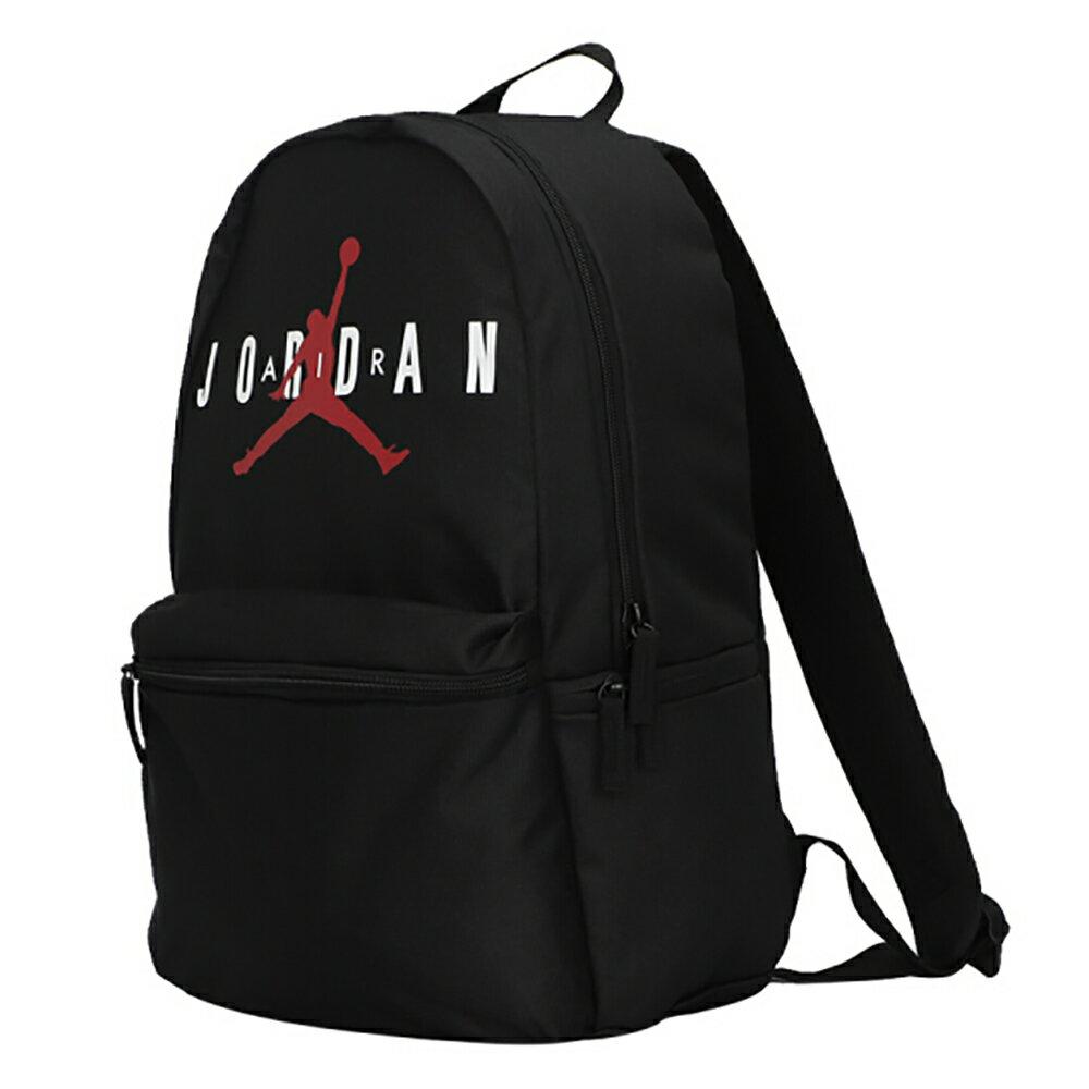 【領券最高折$400】NIKE Jordan Backpack 背包 後背包 休閒 水壺袋 黑【運動世界】JD2123005GS-001