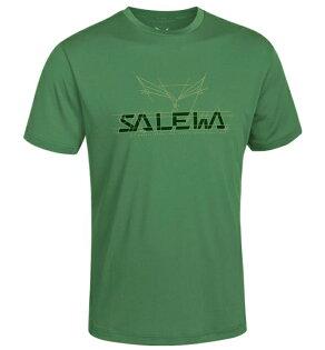 【Salewa德國】DREIZIN抗菌快乾T恤排汗衣運動T恤機能衣森林綠男款24836-5980