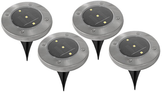 LED Solar Pathway Lights - Set of 8 1