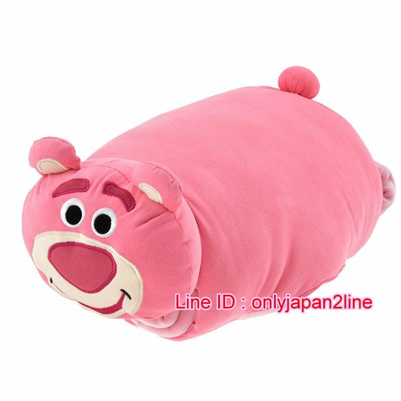 【真愛日本】16101200054 專賣店舒眠柔收納毛毯-熊抱哥 迪士尼 玩具總動員 TOY 毯子 被子