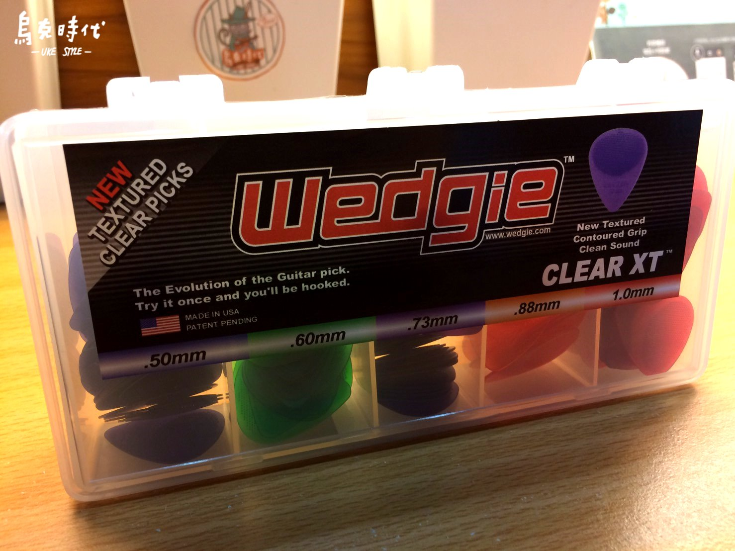 烏克時代~ Wedgie Clear XT 吉他 Pick