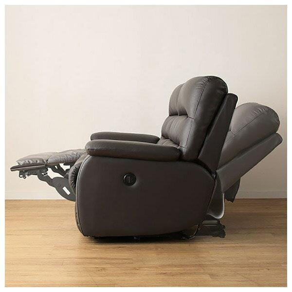 ◎(OUTLET)全皮3人用頂級電動可躺式沙發 BELIEVER DBR 福利品 NITORI宜得利家居 8