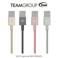 強尼拍賣~Team WC01 Lightning 傳輸充電線(MFi)