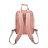 防潑水後背包 / 野餐系列 / 粉紅x米白 / 尺寸S號【NETTA】 2