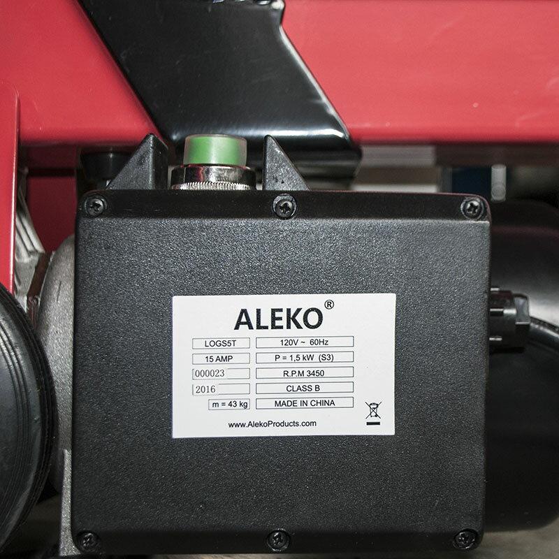 ALEKO 5-Ton Electric Log Splitter Wood Splitter Logsplitter 3