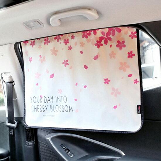 Mycolor:♚MYCOLOR♚摺疊車窗遮陽布汽車防透視窗簾防曬降溫紫外線側窗護眼隔熱可摺疊【F30-1】
