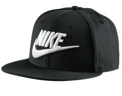 Nike Futura True Snapback 棒球帽 後扣 黑色 白電繡Logo 【運動世界】 584169-010