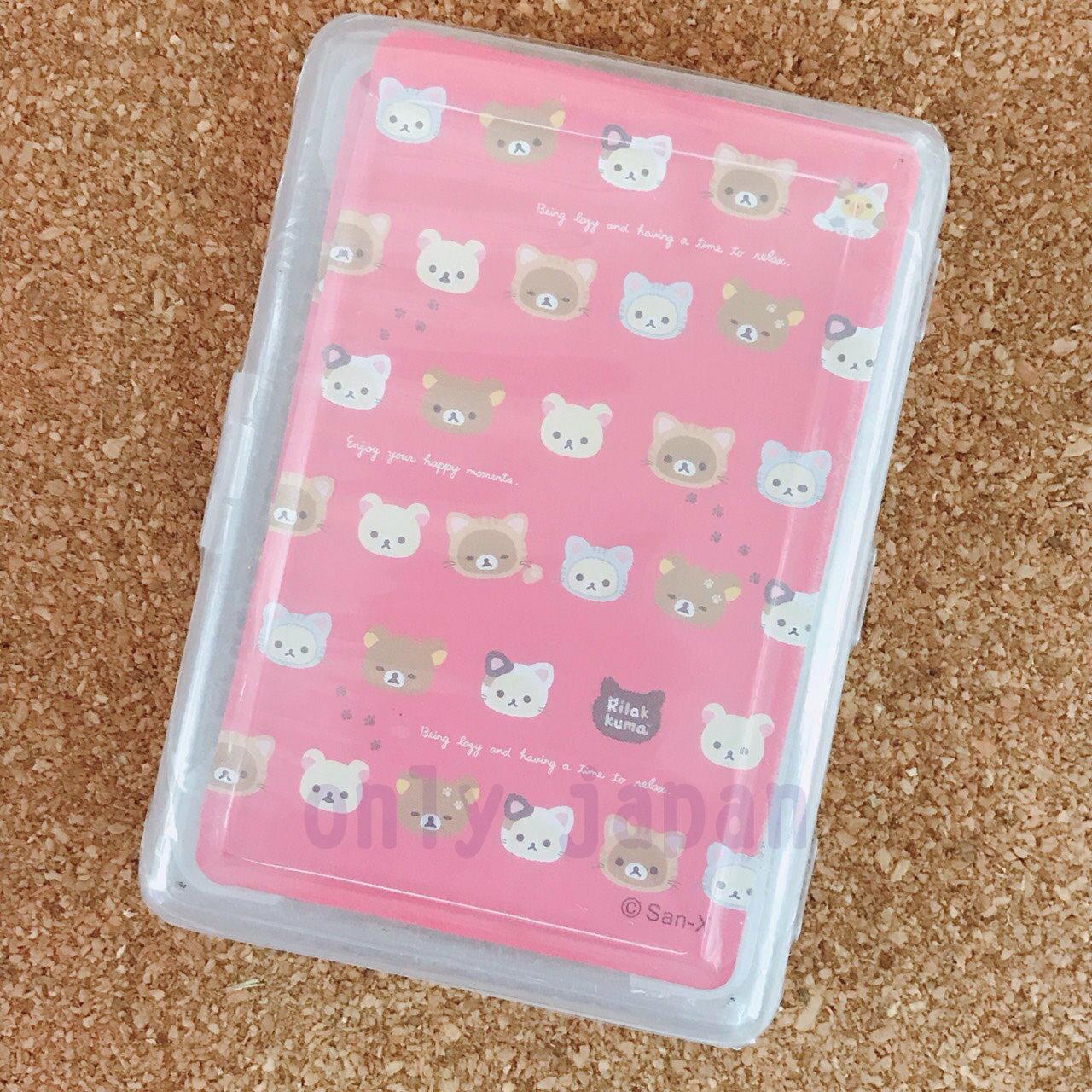 【真愛日本】18060700001 樸克牌-拉拉熊貓咪 san-x 拉拉熊 變裝貓咪 撲克牌 紙牌 桌遊 益智遊戲
