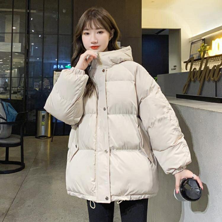絨服 反季節羽絨棉服女2020年新款外套女秋冬百搭矮個子面包服短款ins