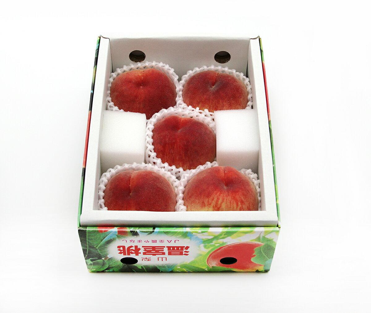 日本山梨縣溫室水蜜桃(5顆盒裝)