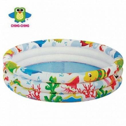 親親 海洋世界三環水池 兒童泳池 小【六甲媽咪】