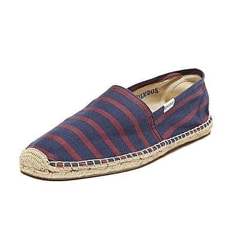 【蟹老闆】Soludos【現貨】歐美品牌 懶人鞋 休閒鞋 素面 草編鞋 Classic Stripe