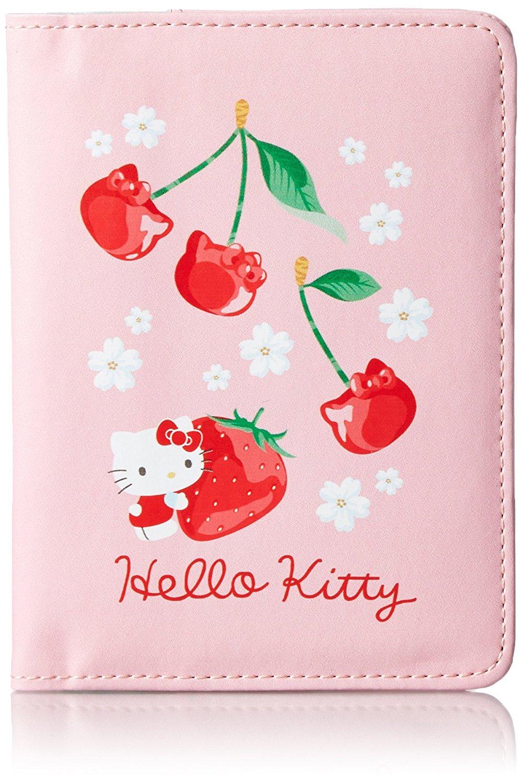 X射線【C529316】Hello Kitty 護照套(粉),旅行箱/行李箱/拉桿箱/購物箱/綁帶