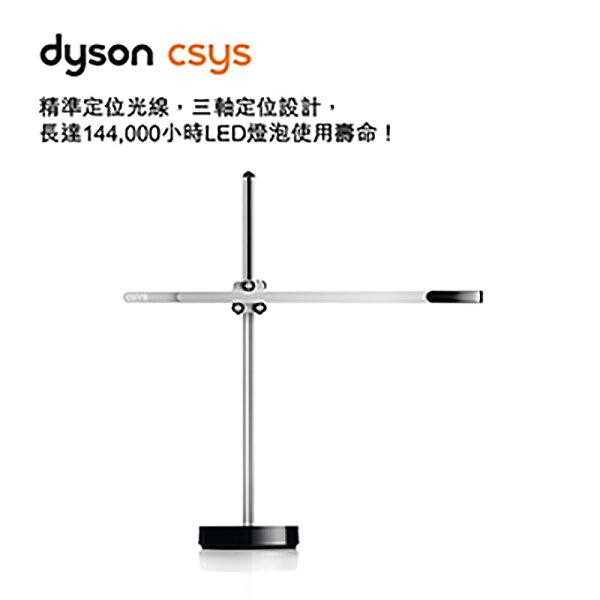 dysoncsysdesk4K白光桌燈(銀黑色)