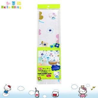 大田倉 凱蒂貓 Hello Kitty廚房防污墊 防油汙 廚房壁貼 防汙貼 磁磚貼 169945