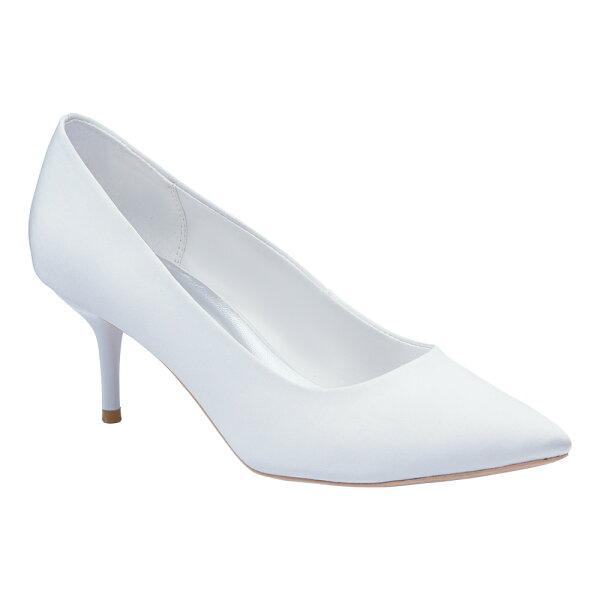 2MUCH絲綢低/中跟禮鞋(35-40)