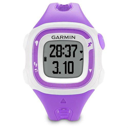 Garmin Forerunner 15, Small - Violet and White Bun GPS Running Watch w/HRM 1
