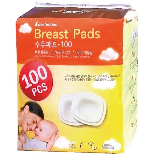 【奇買親子購物網】Expect韓國3D拋棄式乳墊100入