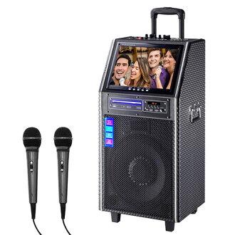 大聲公12吋DVD伴唱型多功能行動音箱 /行動KTV