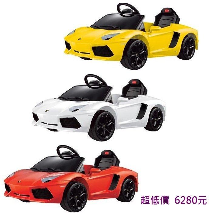 *美馨兒* 兒童電動車- 藍寶堅尼新上市遙控電動車(三色可挑) 6280元+附遙控器