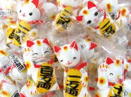 有樂町進口食品  賀新年 招財貓一萬兩果維軟糖150g 開市 節慶 乳酸菌軟糖 100g J70 4946544015000 0