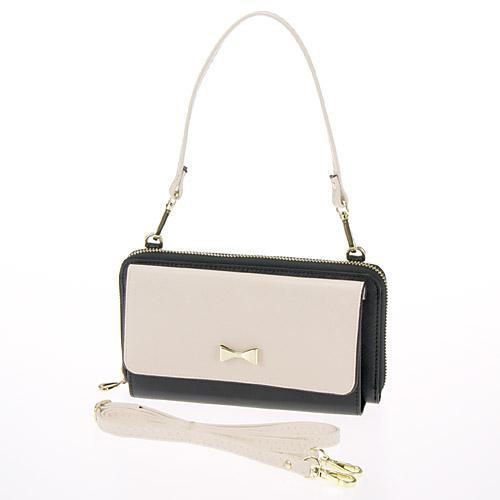 ◎LY愛雅日貨代購◎ 日本代購 多夾層蝴蝶結硬殼包 側背+手提+手拿包