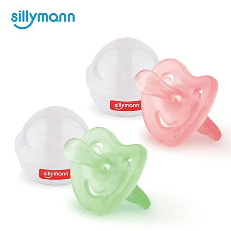韓國【sillymann】100%鉑金矽膠安撫奶嘴(0m+) 小熊安撫奶嘴 奶嘴-米菲寶貝