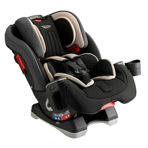 Graco-MILESTONE0-12歲長效型嬰幼童汽車安全座椅(汽座)-灰熊