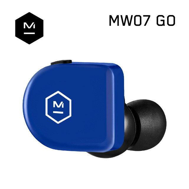 公司貨『 Master & Dynamic MW07 GO 閃電藍 』真無線藍牙耳機/精品藍芽5.0+aptX/IPX6/另售B&O