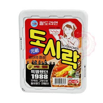 韓國 Paldo 八道 便當盒麵(86g)【庫奇小舖】