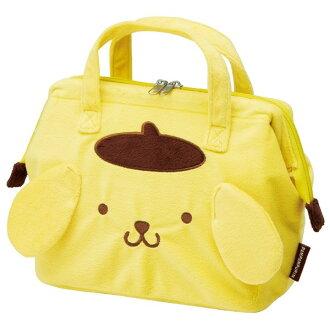 【真愛日本】16050500036保冷提袋S-PN黃 三麗鷗家族 布丁狗 便當袋 便當盒 收納