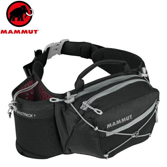 Mammut 長毛象 腰包/運動腰包/隨身包 Lithium Waistpack 2520-00740 0001 黑色 3L
