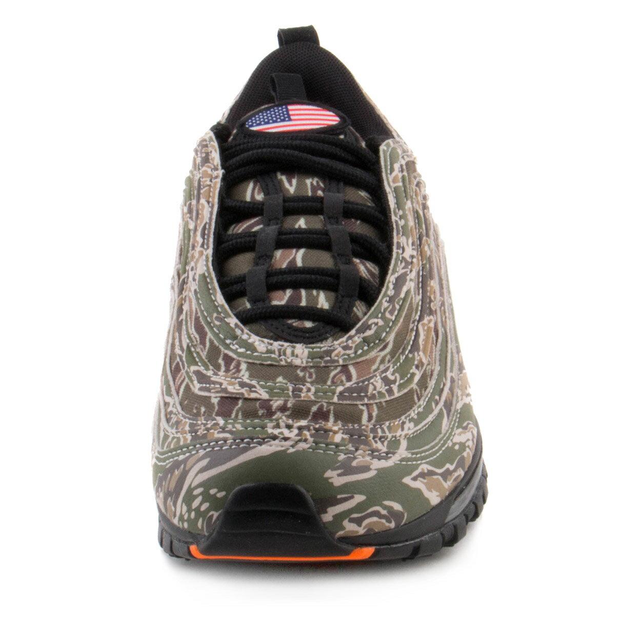 Sole-Unlimited  Nike Mens Air Max 97 Premium QS Country Camo