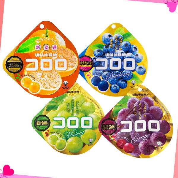 日本 UHA味覺糖 新食感果汁軟糖