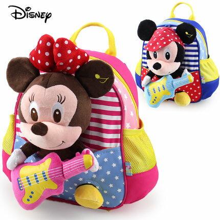 正版迪士尼 幼兒園書包 寶寶後背包-玩偶可拆系列