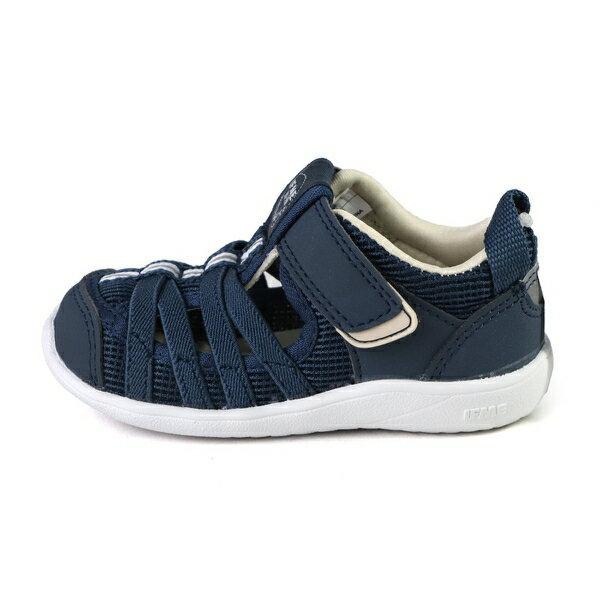 日本 IFME 排水涼鞋 小童鞋 軍藍 IF20-130601