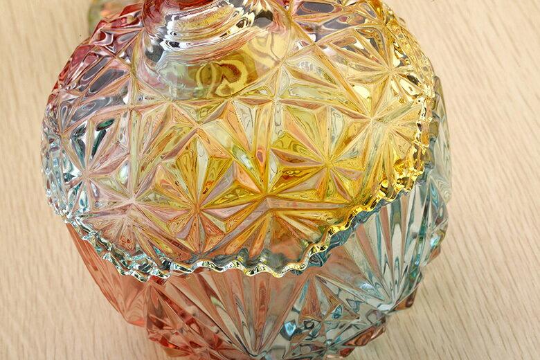 皇冠水晶玻璃罐(小-10.5X13cm) [大買家] 6
