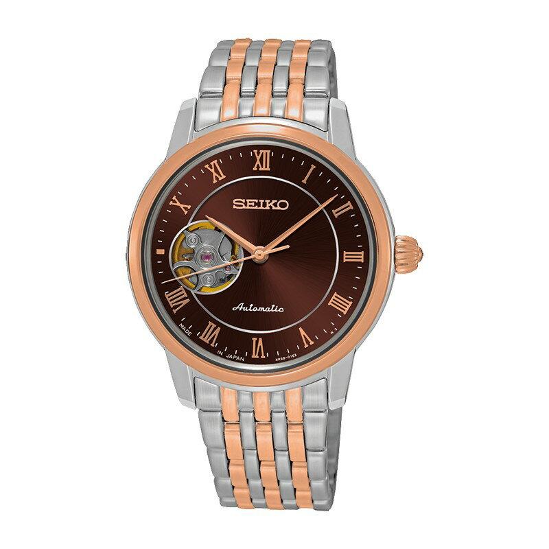 SEIKO PRESAGE開芯機械錶/4R38-01A0P/SSA852J1