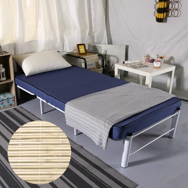 單人床墊 記憶床墊 學生床墊《3尺10公分冬夏兩用竹面單人記憶床墊》-台客嚴選 1
