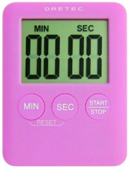 徠福 日本DRETEC(多利可)正、倒數計時器 T-307PK / 個