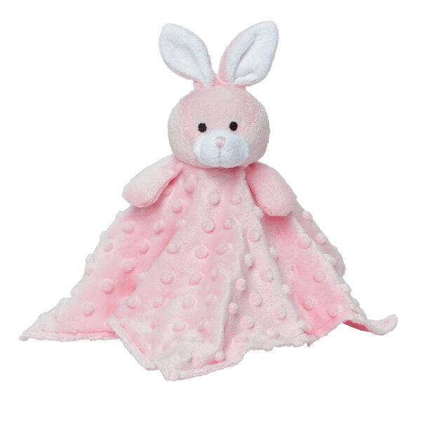 NANABABY:【美國ElegantBaby】嬰兒安撫巾-粉紅兔兔#87653