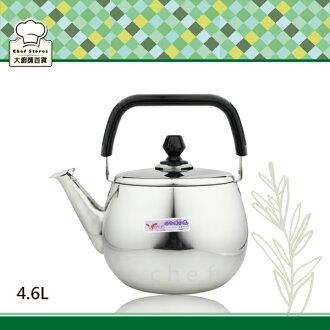牛頭牌小牛超廣口不鏽鋼琴音茶壺4.6L開水壺-大廚師百貨